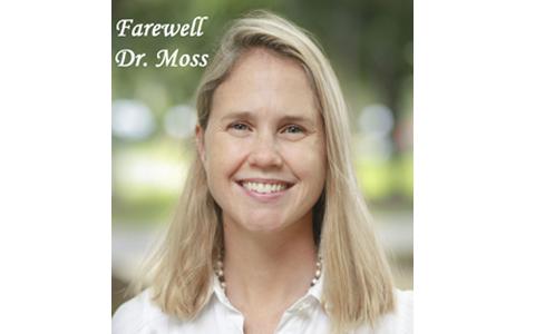 Farewell Dr. Moss