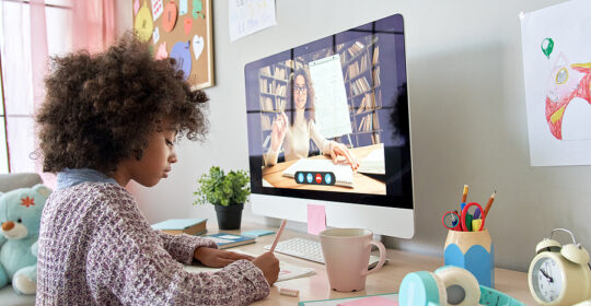 How to Support Your Child During Virtual or In Person Learning Transitions